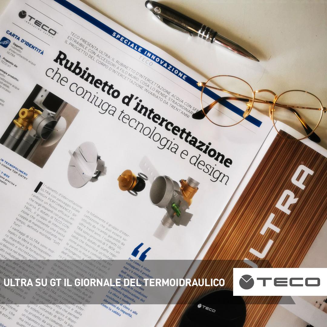 Il rubinetto d'intercettazione ULTRA su GT Il Giornale del Termoidraulico