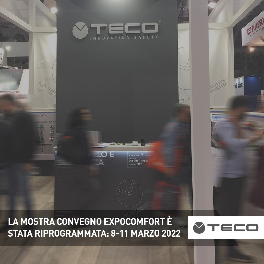 La Mostra Convegno Expocomfort (MCE) è stata posticipata: appuntamento dall'8 all'11 marzo 2022
