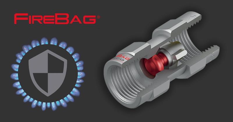 FIREBAG dispositivo di sicurezza termico per impianti gas