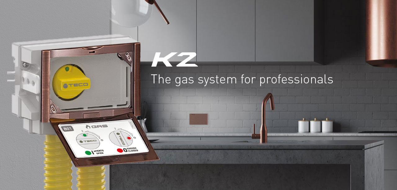 Teco K2: the gas system for professionals