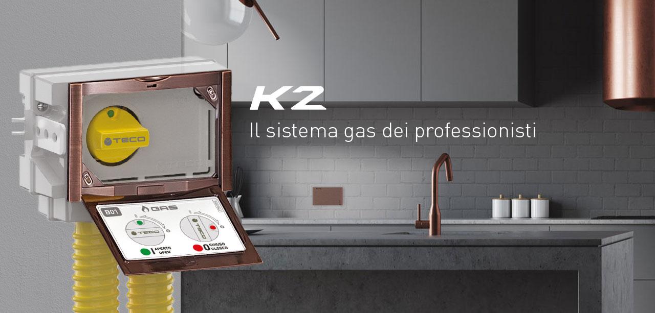 Teco K2.1 valvola gas cucina