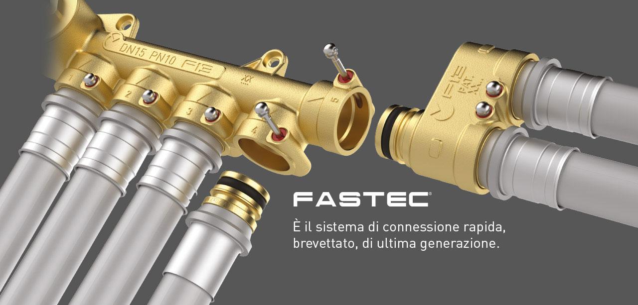 Teco Fastec raccordi rapidi impianti idrici
